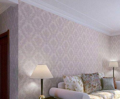 韩式田园墙壁纸图片,床头背景墙纸7平方大卷