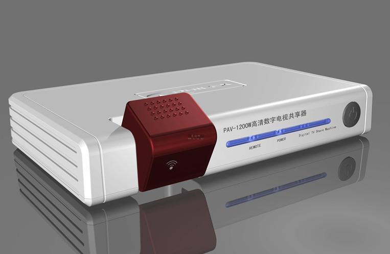 数字电视机顶盒共享器安装方法