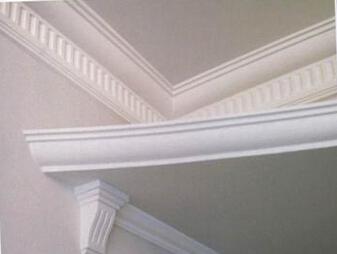 一般石膏浮雕装饰产品图案花纹的凹凸应在10mm以上