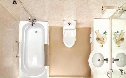 家装浴室电路安装