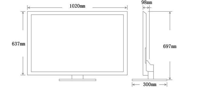 【52寸液晶电视尺寸】52寸液晶电视尺寸具体是多大