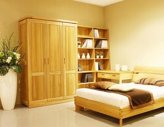因为传统实木家具大多采用榫卯结构