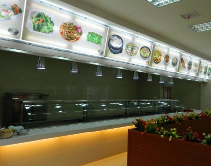 员工食堂装修效果图