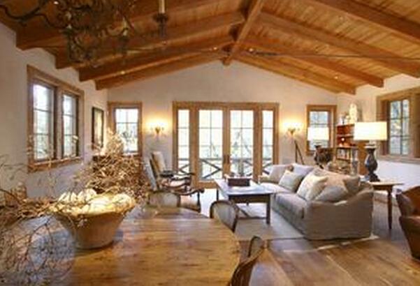 白色復古家具圖片