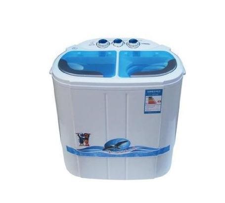 小鸭迷你洗衣机通过各种开关组成控制电路