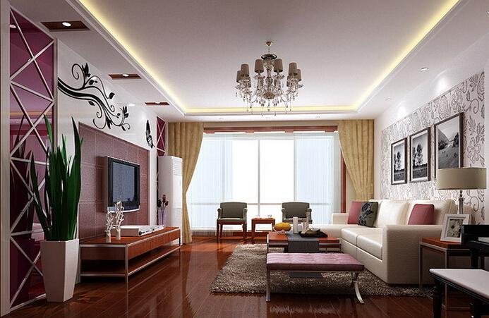 客厅装修样板房哪个好