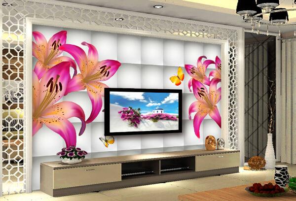 装修电视背景墙画电视柜装修背景墙图片6