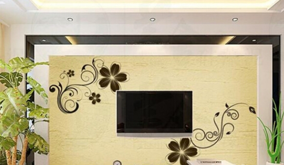 2015年硅藻泥电视背景墙设计