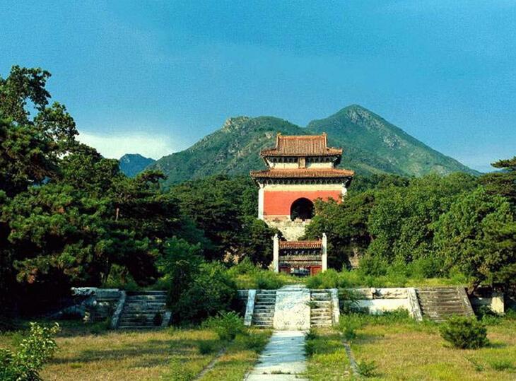 朱元璋祖坟风水图片