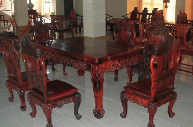 >紅木家具價格及圖片